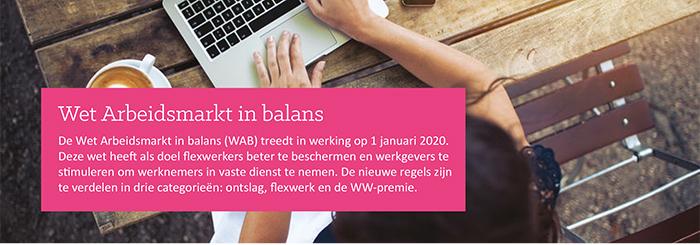 ASK infoblad Wet Arbeidsmarkt in Balans